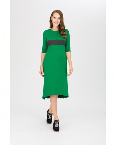 Платье Олимпиада (зеленый)