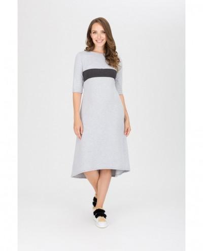 Платье Олимпиада (серый)