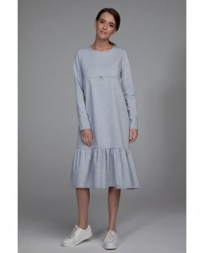 Платье Фрезия (серый)