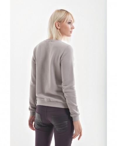 Стильные брюки для беременных с вставкой из кожзама (бордо)