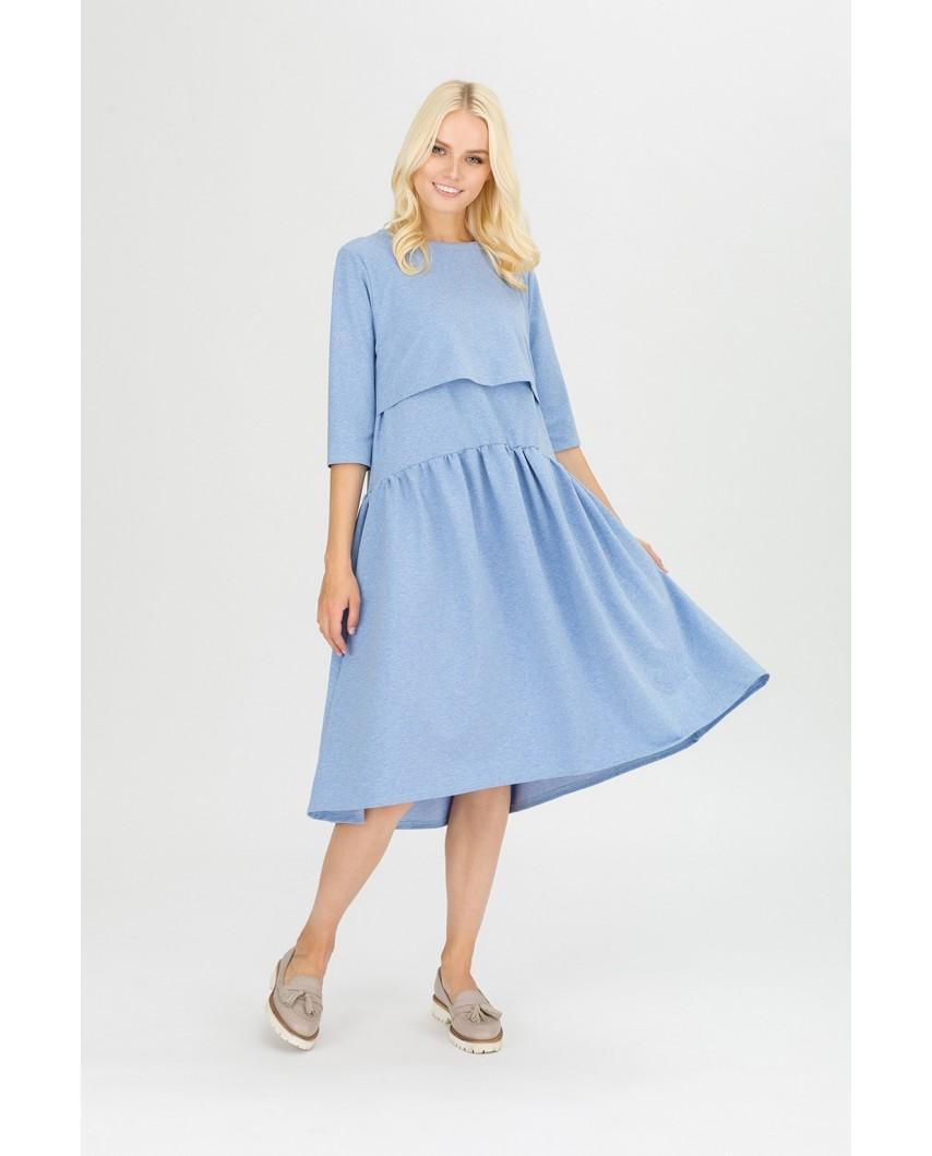 """Платье """"Мандрагора"""" джинс"""